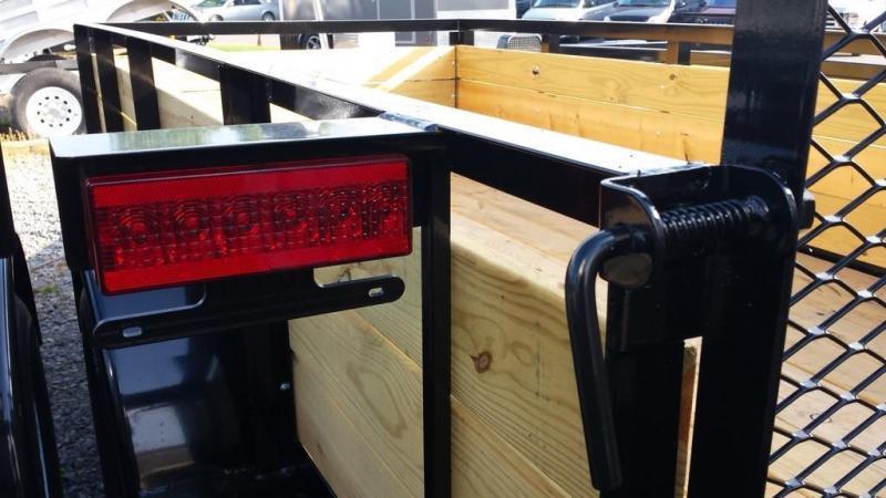 2020 Holmes 5x10 Board Side Utility Trailer