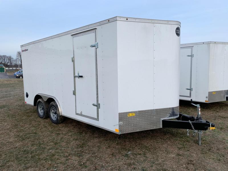 2020 Wells Cargo Fast Trac 8.5x16 7K Car Hauler
