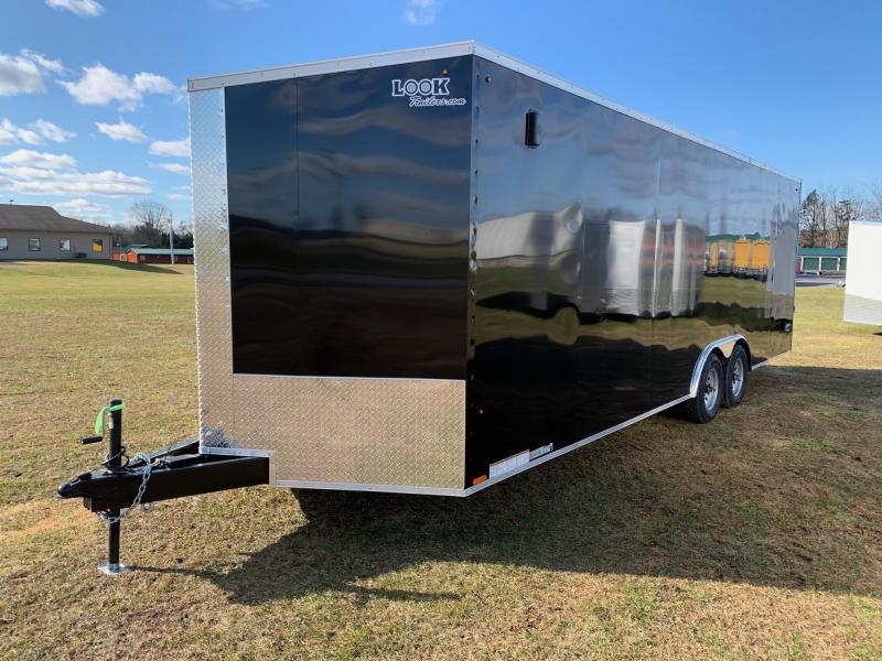 2020 Look Trailers 8.5x24 10K Enclosed Cargo Trailer