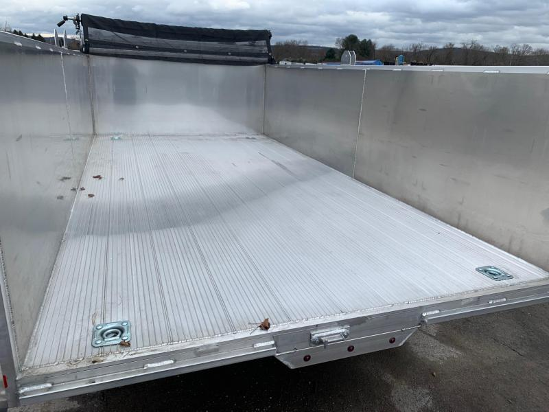 2020 Mission 7x14 14K All-Alluminum Dump Trailer