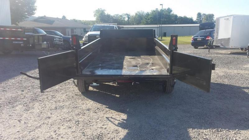 2020 Sure-Trac 6x12 Low Profile Dump Trailer