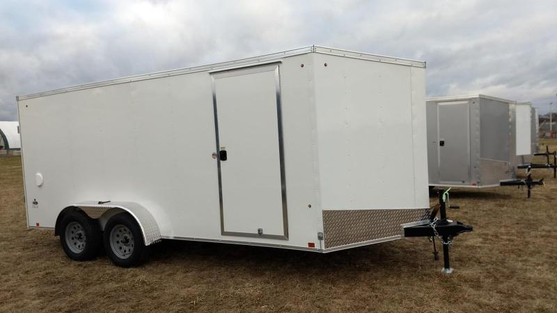 2019 Look Trailers 7x16 DLX-ST Enclosed Cargo Trailer