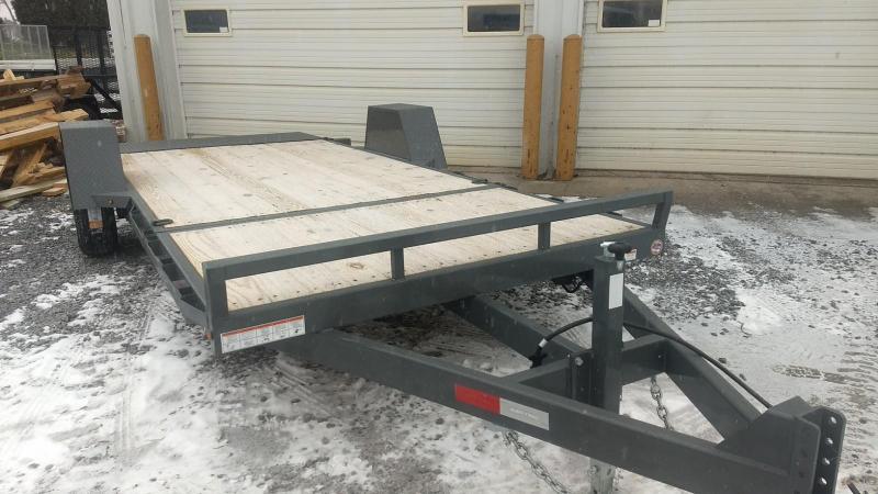 2019 Sure-Trac 6.5x12+4 tilt deck equipment trailer