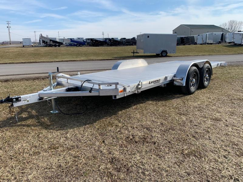2020 Legend Manufacturing 7x20 10K Tilt Car / Racing Trailer