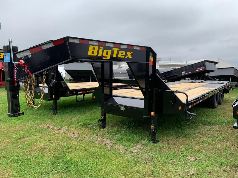 2020 Big Tex Trailers 8.5x25 Gooseneck Flatbed Trailer