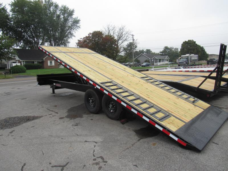 2020 Midsota 22 Deckover Power Tilt Equipment Trailer
