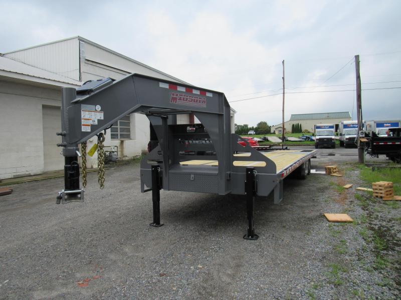 2019 Midsota FB36-GN Gooseneck Power Beavertail Flatbed Trailer