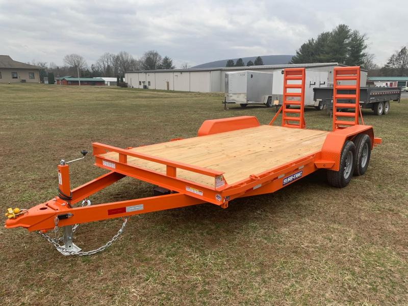 2020 Sure-Trac 7 x 16  Equipment Trailer  10K