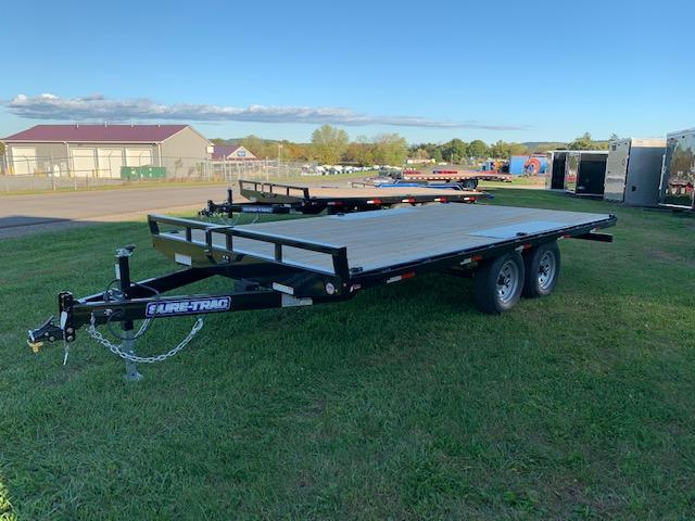 2020 Sure-Trac 8.5x16 Deckover Flatbed Trailer