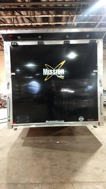 2019 Mission 8.5x28 Pinnacle Premium Car / Racing Trailer