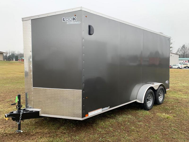 2020 Look Trailers 7x16 Element SE Enclosed Cargo Trailer
