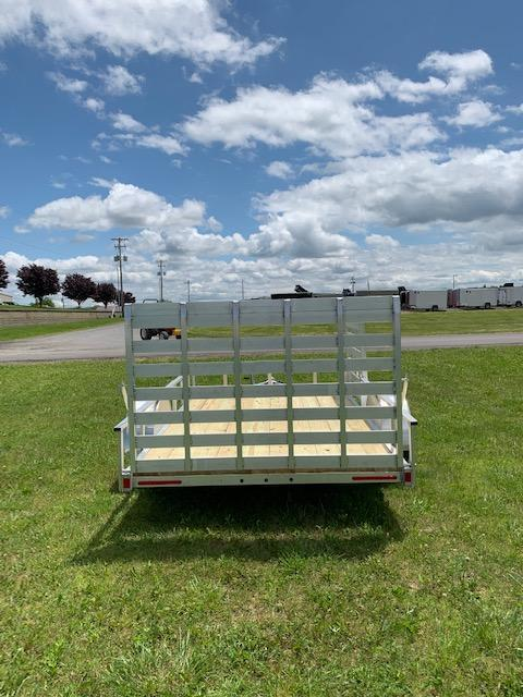 2019 Mission MLS 6.5X12 Utility Trailer