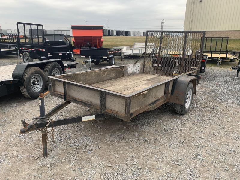 2008 TWF Mfg 5x10 Utility Trailer