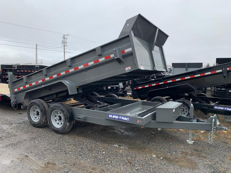 2020 Sure-Trac 7x14 14K Low Profile Dump Trailer