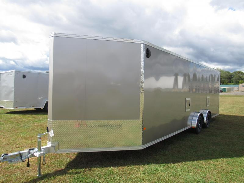 2020 Mission EZES 7.5x24 Enclosed Snowmobile Trailer