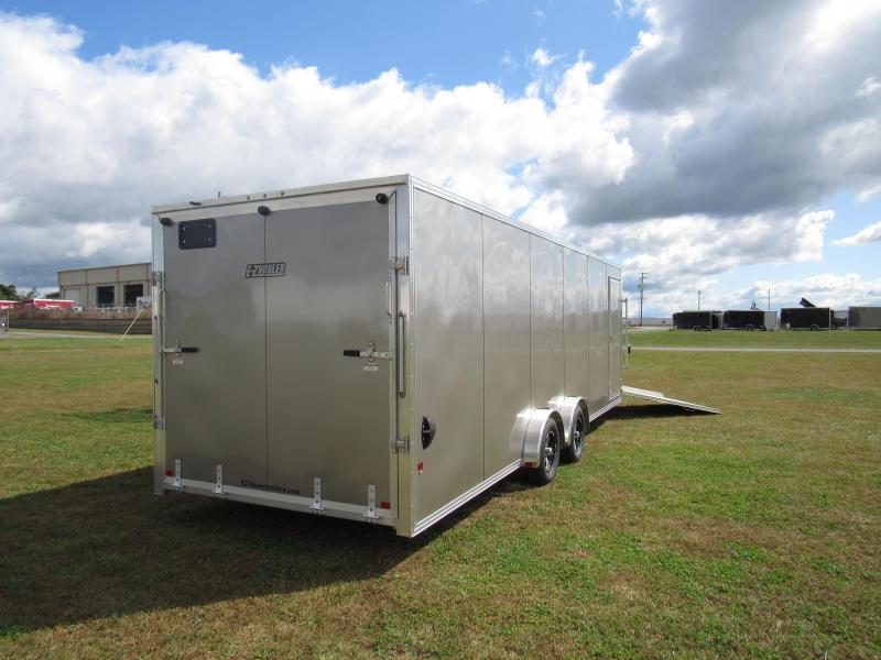 2020 Mission EZES 7.5x24 Enclosed Snowmobile Trailer