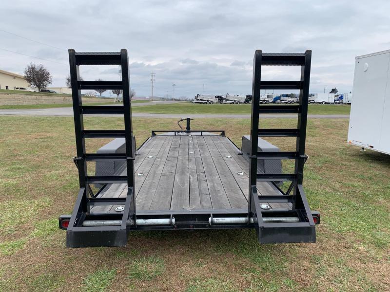 2019 B-Wise 18' 10K Equipment Trailer