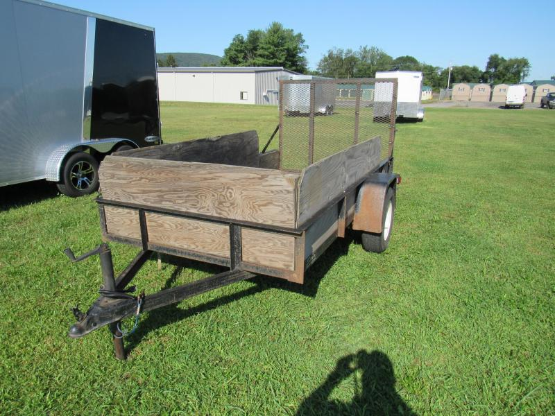 2002 Other Star 5x10 Utility Trailer