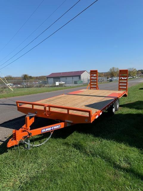 2020 Sure-Trac 8.5x20 Flatbed Trailer