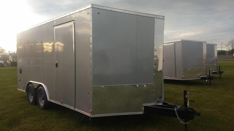 2020 Look Trailers 8.5x16 10K Cargo/Enclosed Trailer
