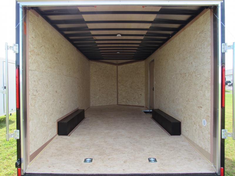 2020 Look Trailers 8.5x18 10K Cargo/Enclosed Trailer