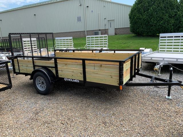 2019 Holmes 6-4x12 Wood Side Utility Trailer