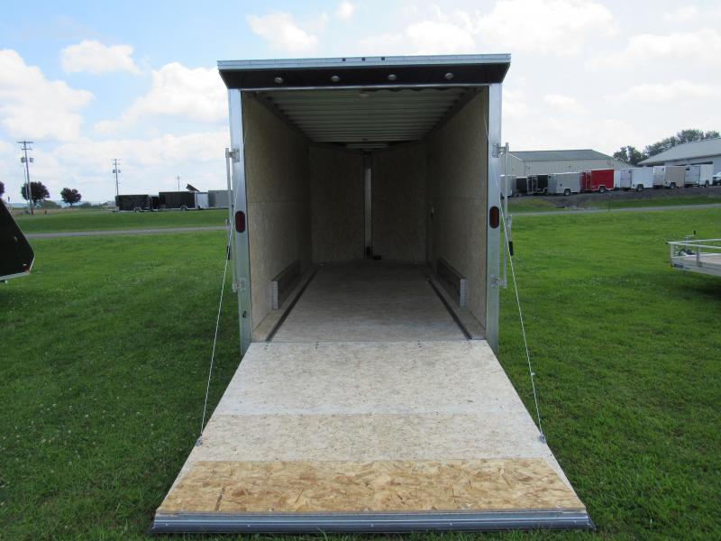 2020 Mission EZ Hauler 7.5x18 7k UTV (Limited Model) Enclosed Cargo Trailer