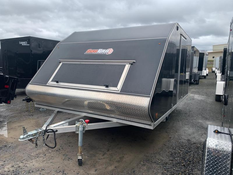 2017 Snopro 12' Crossover Snowmobile Trailer