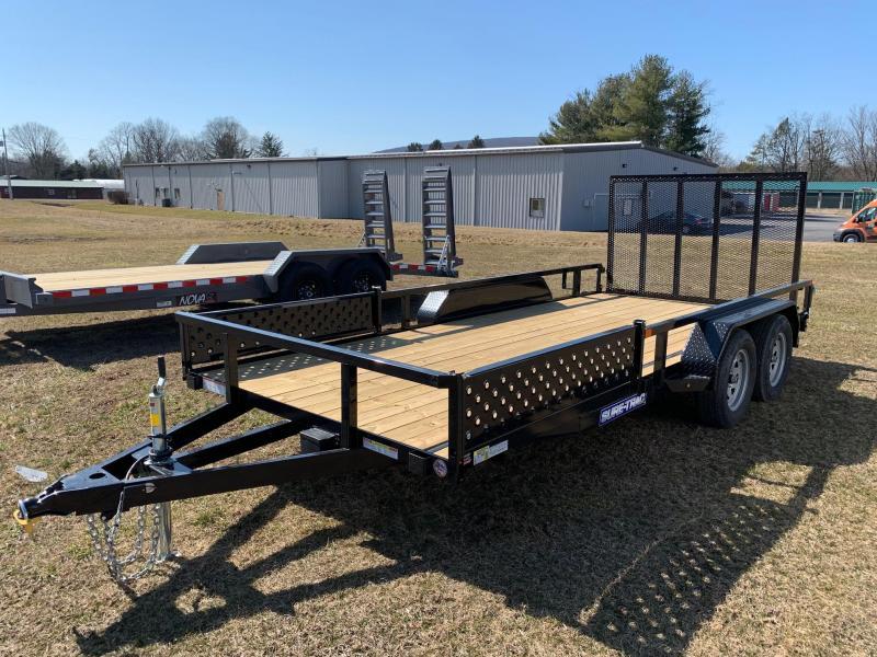 2020 Sure-Trac 7x16 7K ATV Trailer