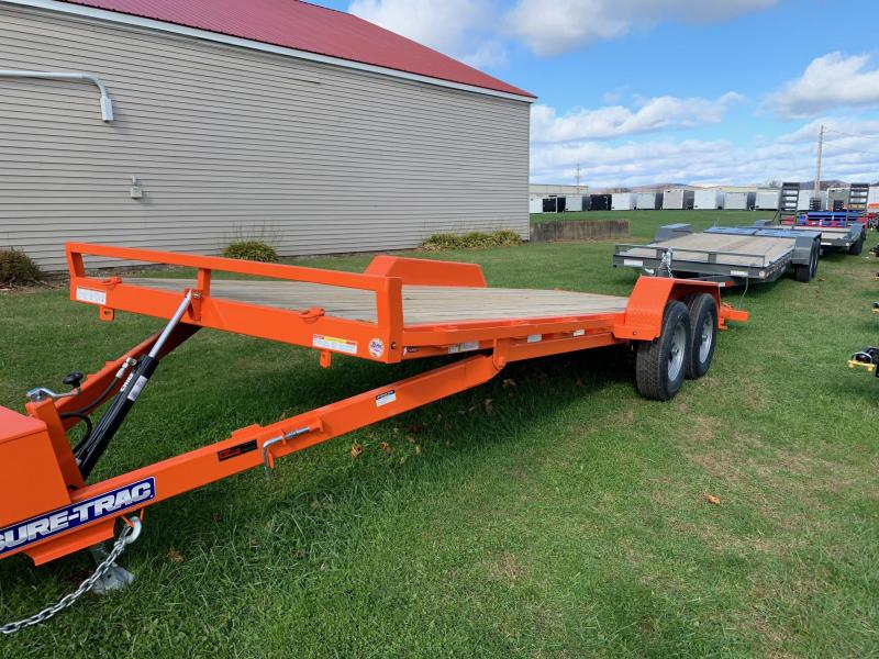 2020 Sure-Trac 7x20 10K Power Tilt Car / Racing Trailer