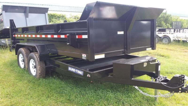 2020 Sure-Trac 7x14 Low Profile Dump Trailer