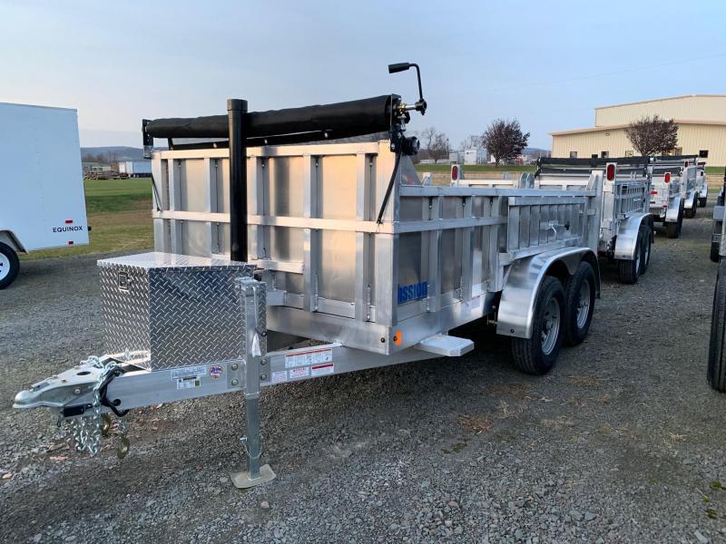 2020 Mission 6x12 10K All-Aluminum Dump Trailer