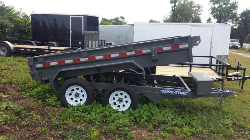 2020 Sure-Trac 5x10 Low Profile Dump Trailer