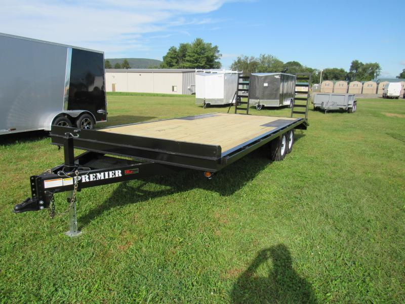 2019 Premier Trailers Inc. 22' (16+4) 10K Deck-Over Equipment Trailer