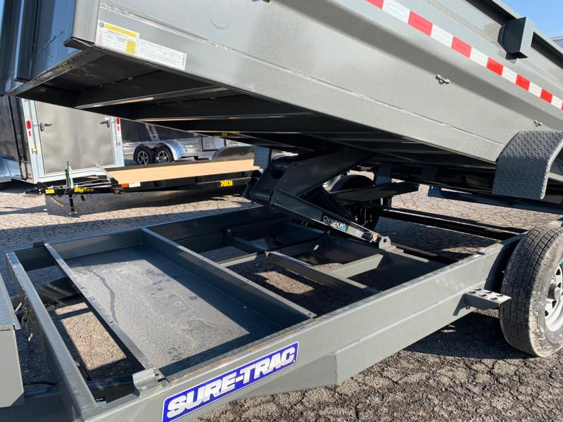 2020 Sure-Trac 7x16 14K low profile Scissor dump trailer