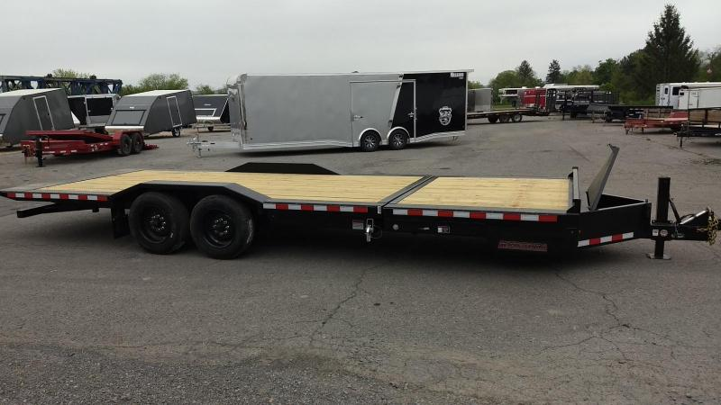 2019 Midsota 7x18+6 17.6K tilt deck wide body Equipment Trailer