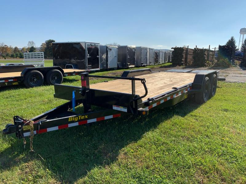 2020 Big Tex Trailers 7x20 14K Equipment Trailer
