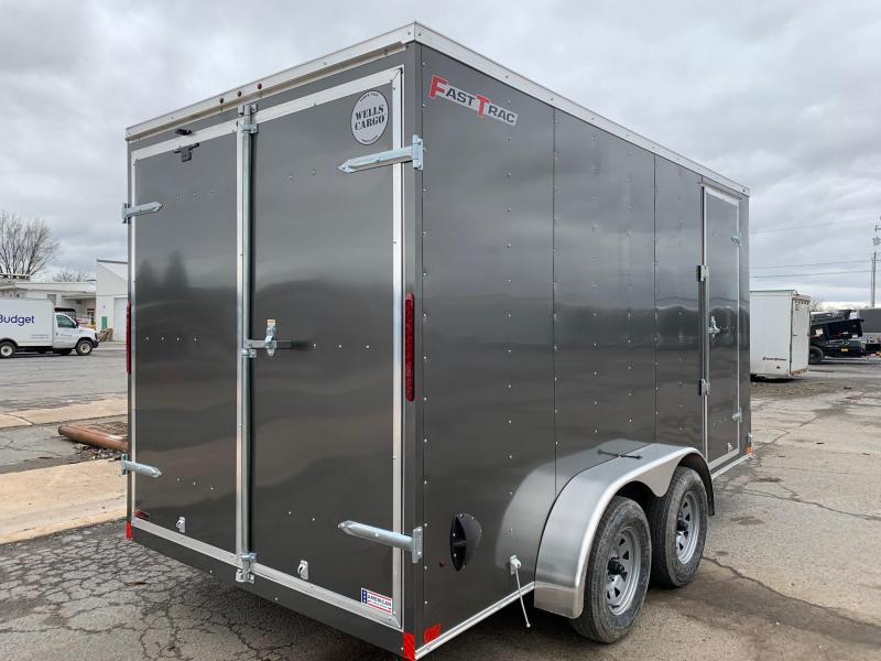 2020 Wells Cargo 7x14 7K Enclosed Cargo Trailer