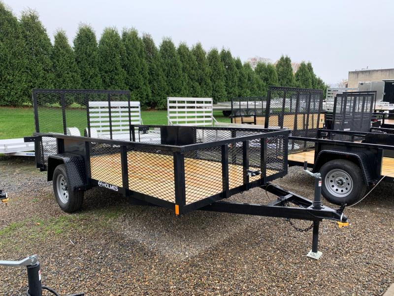 2020 Holmes Commercial 6-4x12 3.5K Mesh Utility Trailer
