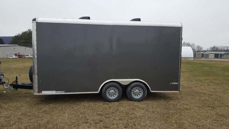 2018 Look Trailers Vision Round Top 8.5x16 10K