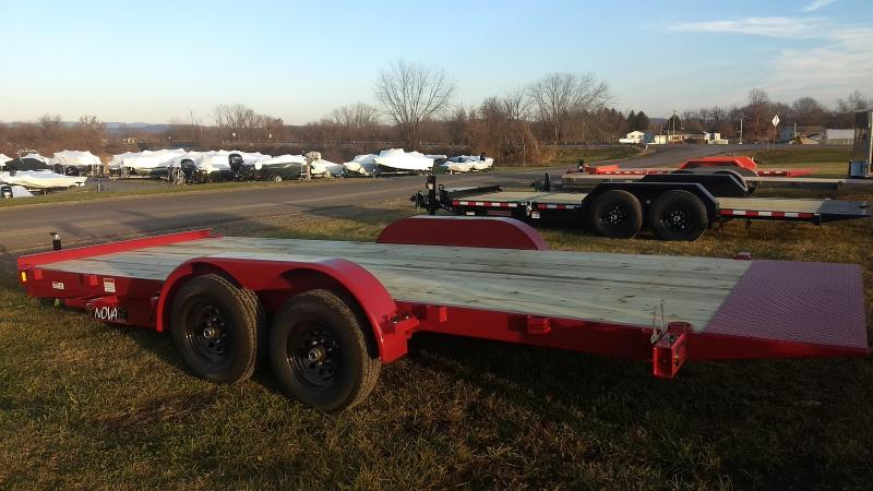 2020 Midsota Nova 18' 10K Tilt Car / Racing Trailer