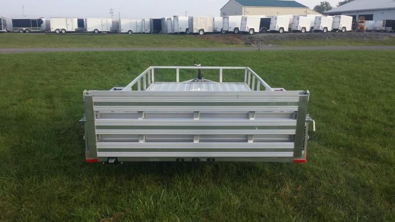 2019 Stealth Trailers 6-5x14 Alum Open Deck Rail Utility Trailer