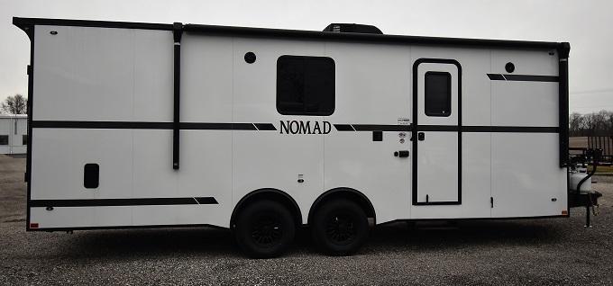 2020 Stealth Trailers Nomad 8.5 X 24 LQ Toyhauler Enclosed Cargo Trailer