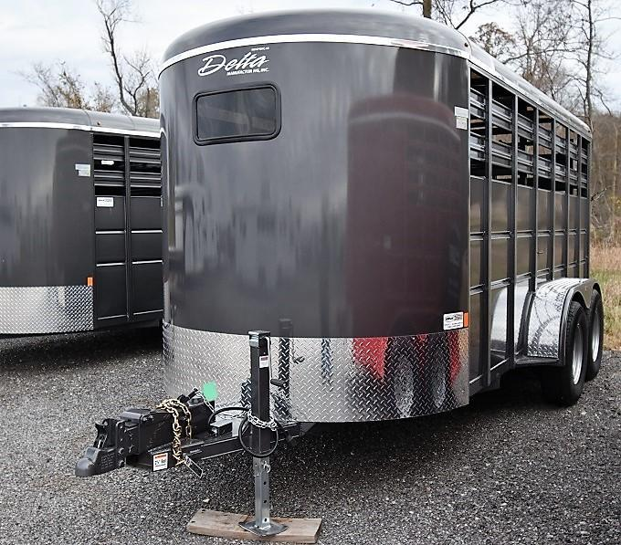 2020 Delta Manufacturing 500 Series Stock Livestock Trailer