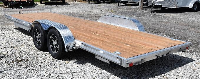 2020 Stealth Trailers Phantom 720TA Aluminum Utility Trailer