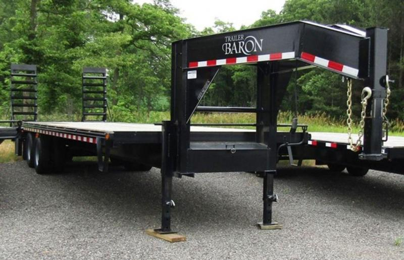 2018 Baron Quality Pro Dual Tandem 25 5 Deck Over Trailer