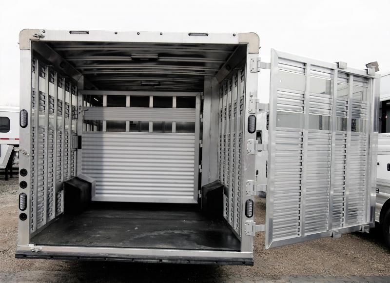 2021 Lakota LE81611 Stock Combo W/Midtack Horse/Stock Trailer