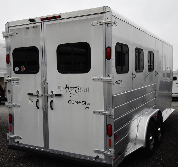 2004 Keifer Built Genesis X3 Horse Trailer
