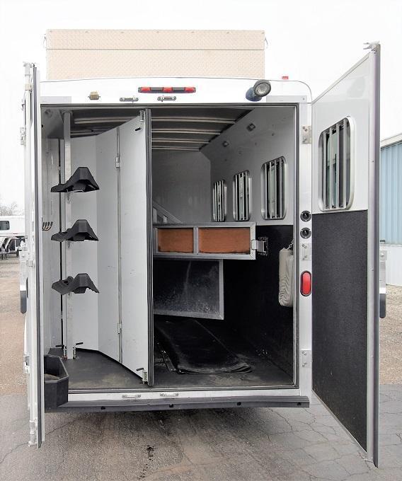 2013 Bison Trailers 7308 Stratus Lite Horse Trailer