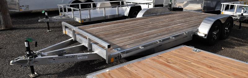 2020 Stealth Trailers Phantom Aluminum 7x18 Car/ Utility Trailer